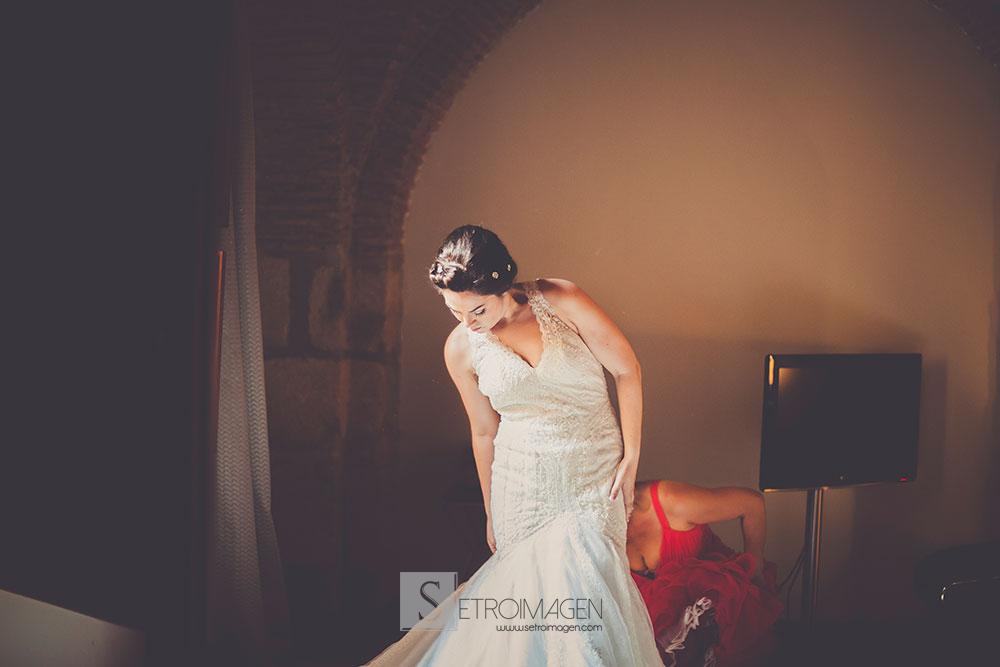 traje novia san patrick