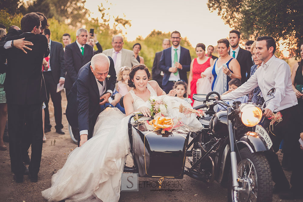 sidecar boda