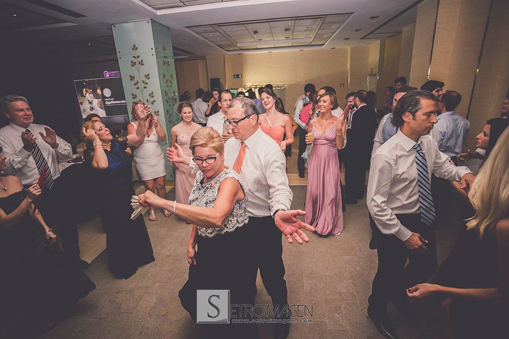 boda en el hotel hesperia madrid
