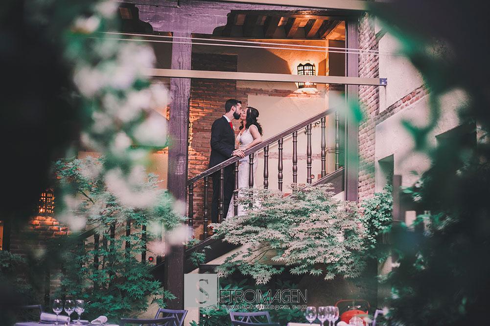 boda en el parador de alcalá de henares