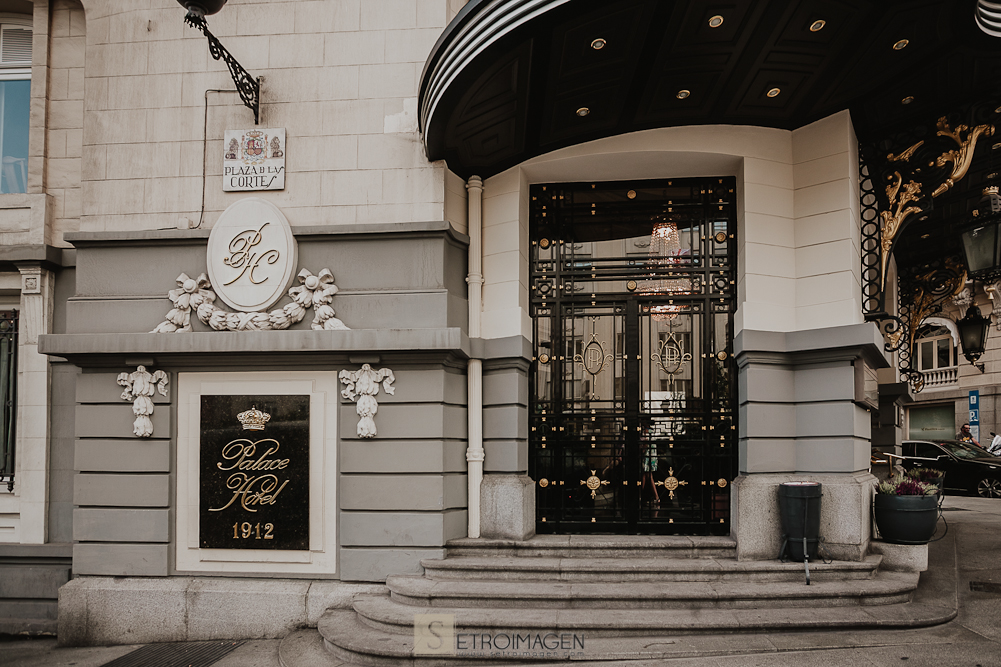 hotel palace Madrid bodas