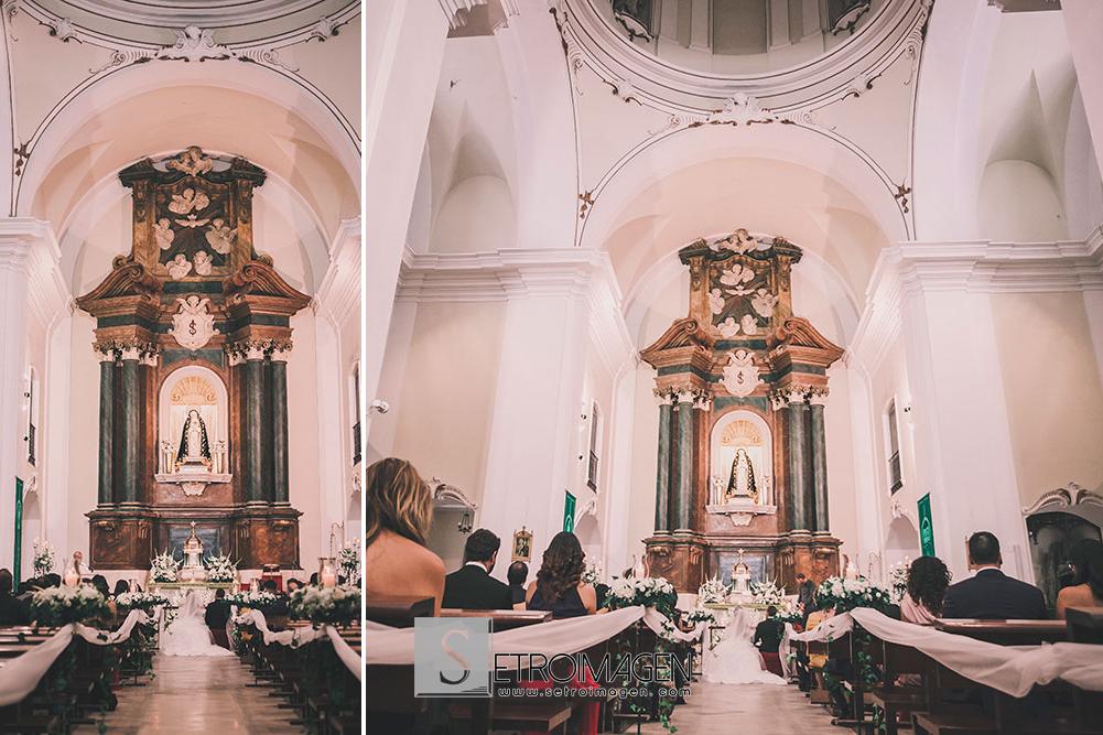 Boda en la Iglesia de Alpajés