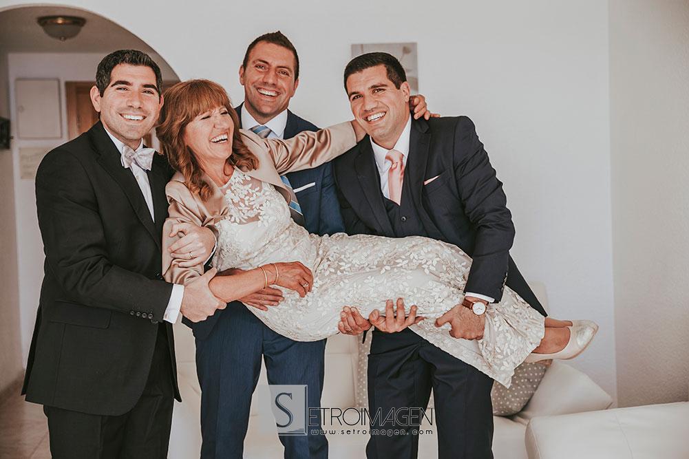 boda en el hotel bluesense villajoyosa