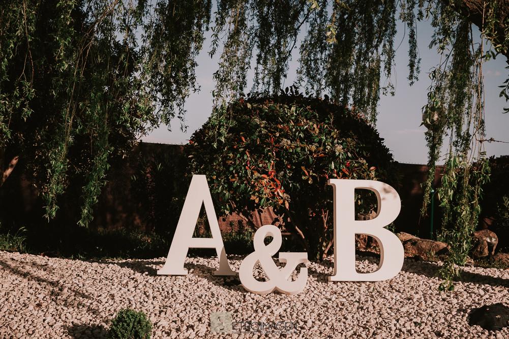 boda en jardín de acadi